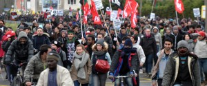 Calais Manif Migrants