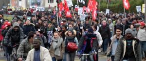 Calais Manif Migrants